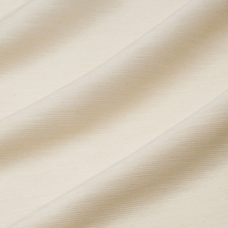James Hare Chiltern Faux Silk Fabric Ivory