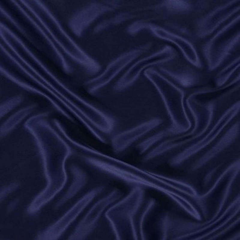 James Hare Crepe Backed Satin Navy