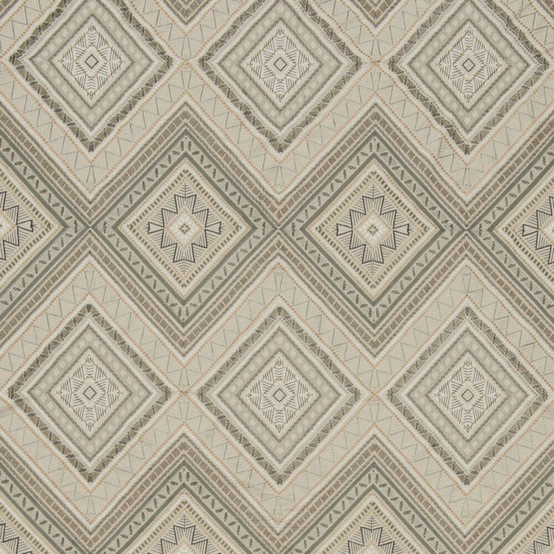 James Hare Fuji Fabric Natural/Slate