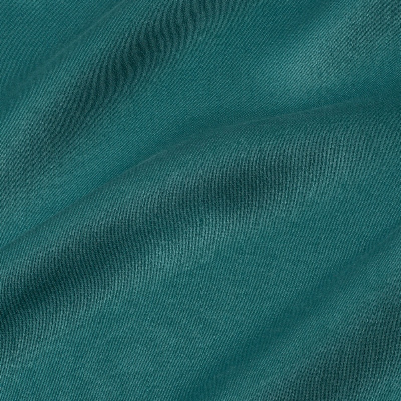 James Hare Iona Satin Linen Fabric Arcadia
