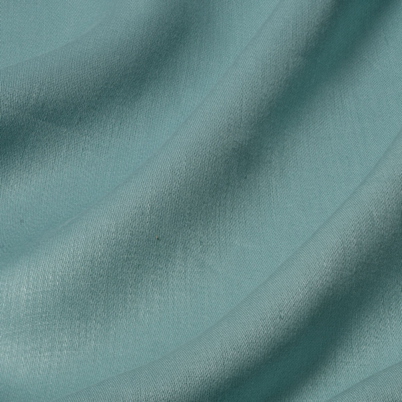 James Hare Iona Satin Linen Fabric Arctic