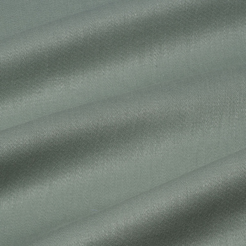 James Hare Iona Satin Linen Fabric Dale