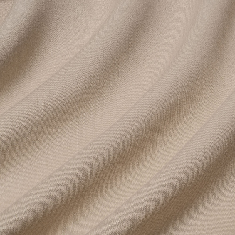 James Hare Iona Satin Linen Fabric Dark Linen