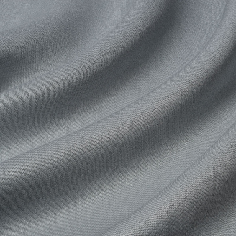 James Hare Iona Satin Linen Fabric Gull