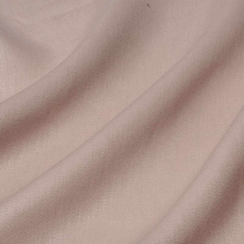 James Hare Iona Satin Linen Fabric Marshmallow