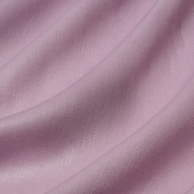 James Hare Iona Satin Linen Fabric Peony