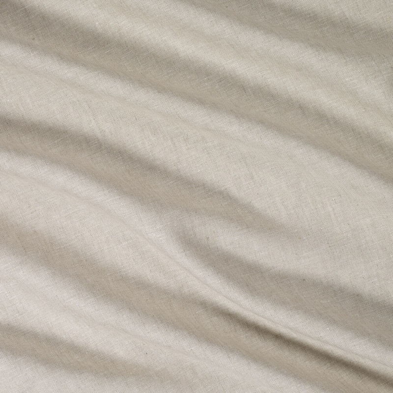 James Hare Lismore Linen Fabric Natural