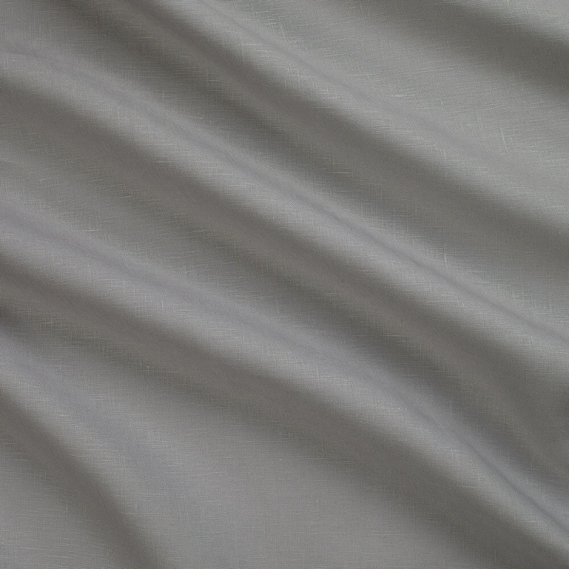 James Hare Lismore Linen Fabric Steel