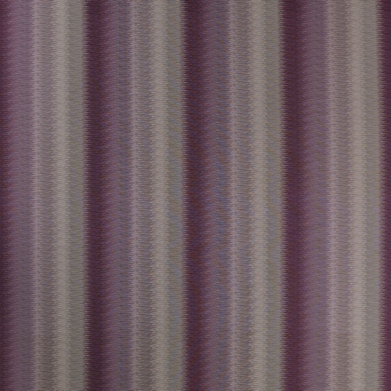James Hare Lyra Stripe Fabric Amethyst