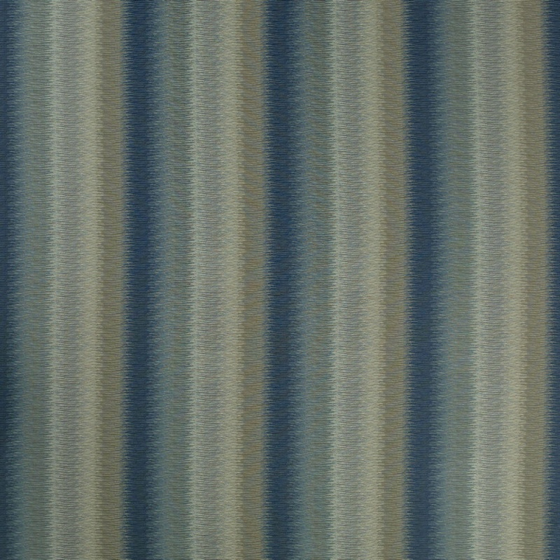 James Hare Lyra Stripe Fabric Seaspray