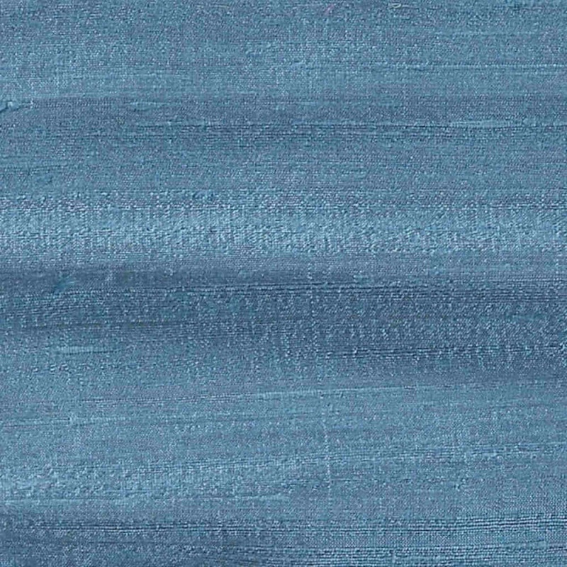 James Hare Orissa Silk Fabric Azure Blue