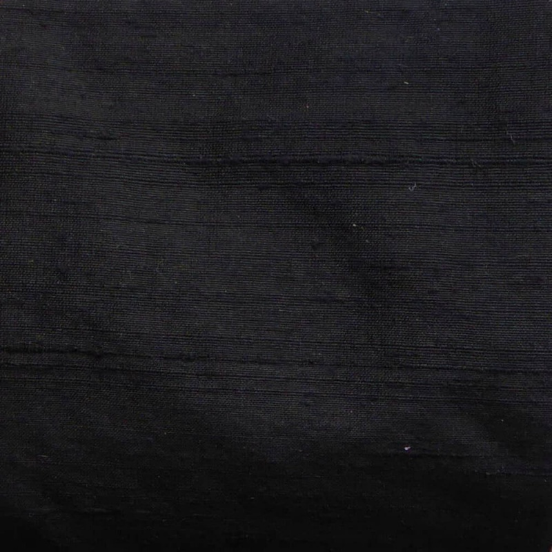 James Hare Orissa Silk Fabric Black