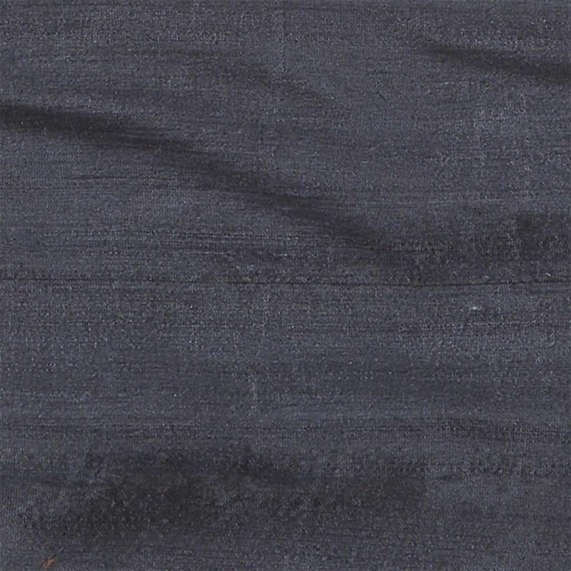 James Hare Orissa Silk Fabric Gunmetal