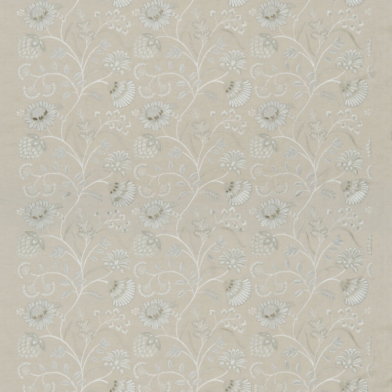 James Hare Siam Linen Fabric Natural
