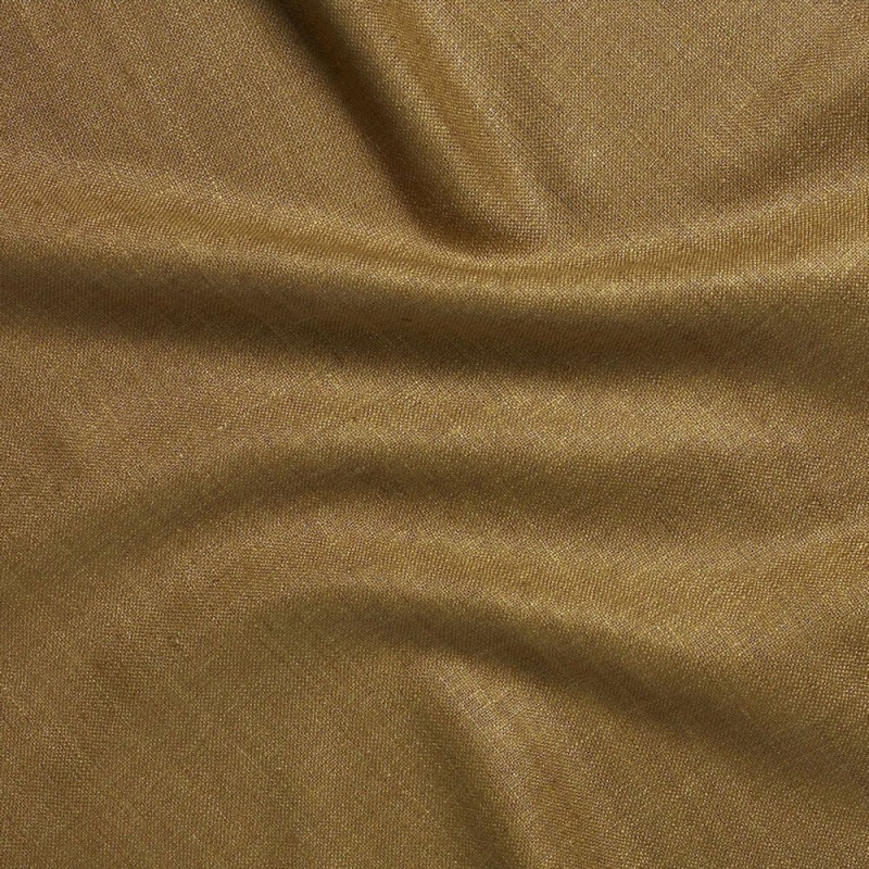 James Hare Simla Silk Matka Fabric Beeswax