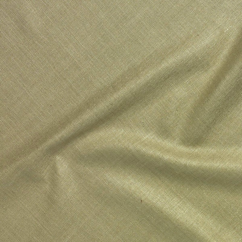 James Hare Simla Silk Matka Fabric Greensand