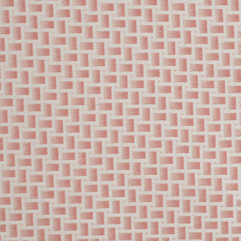 James Hare Abstract Fabric Pink