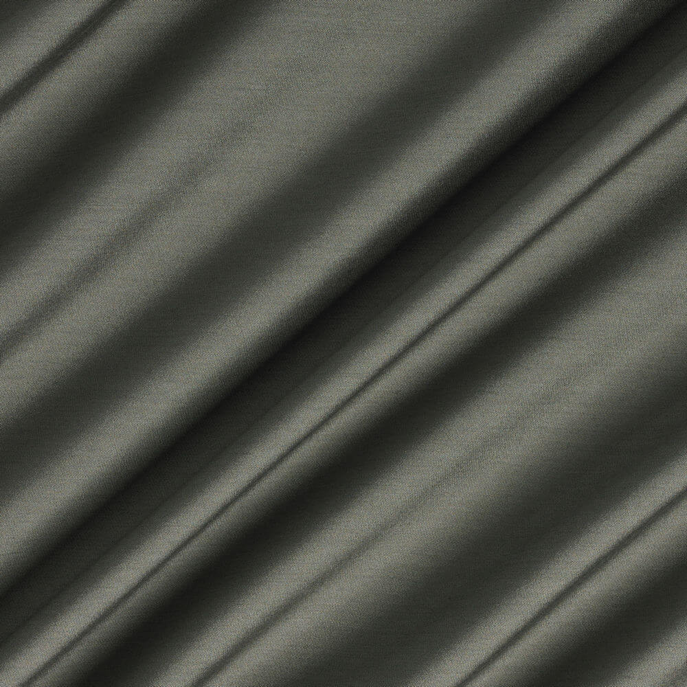 James Hare Connaught Silk Fabric Lava Stone