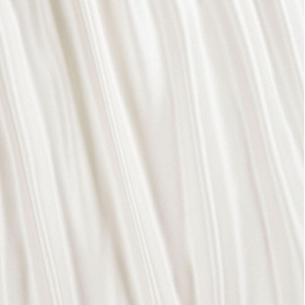 James Hare Duchesse Satin Fabric Ivory Super Soft