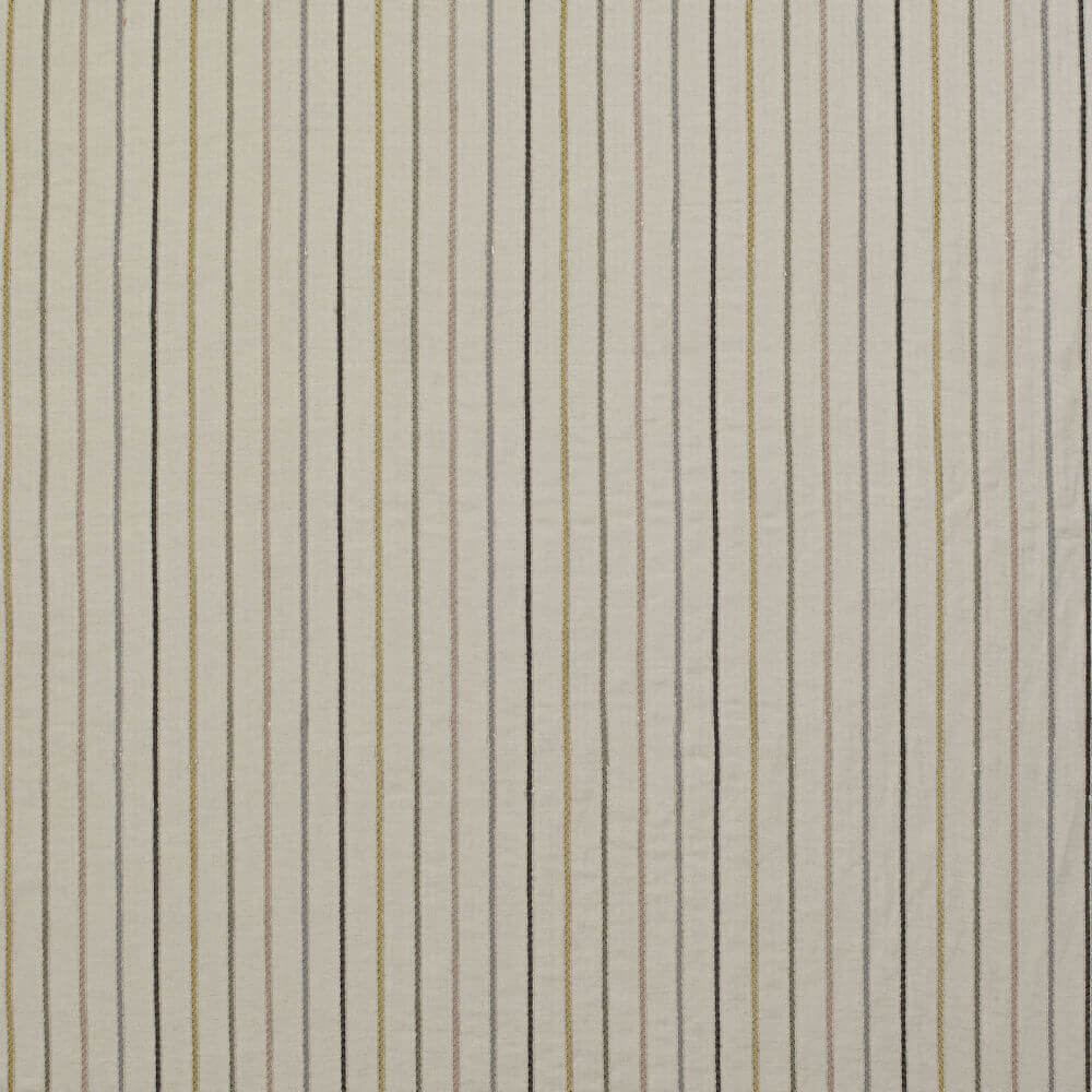 James Hare Maddox Stripe Fabric Natural