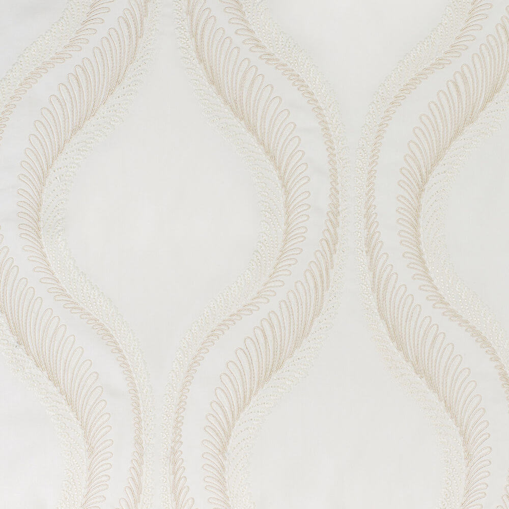 James Hare Meander Fabric Ivory