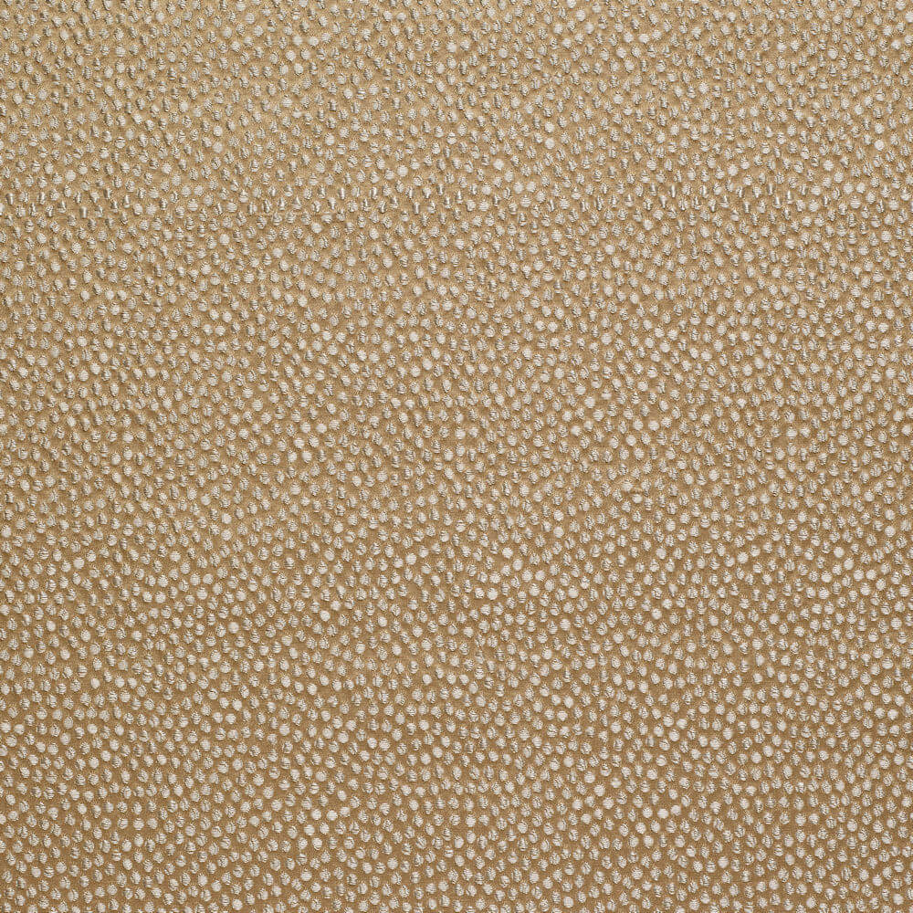 James Hare Shagreen Silk Fabric Ochre