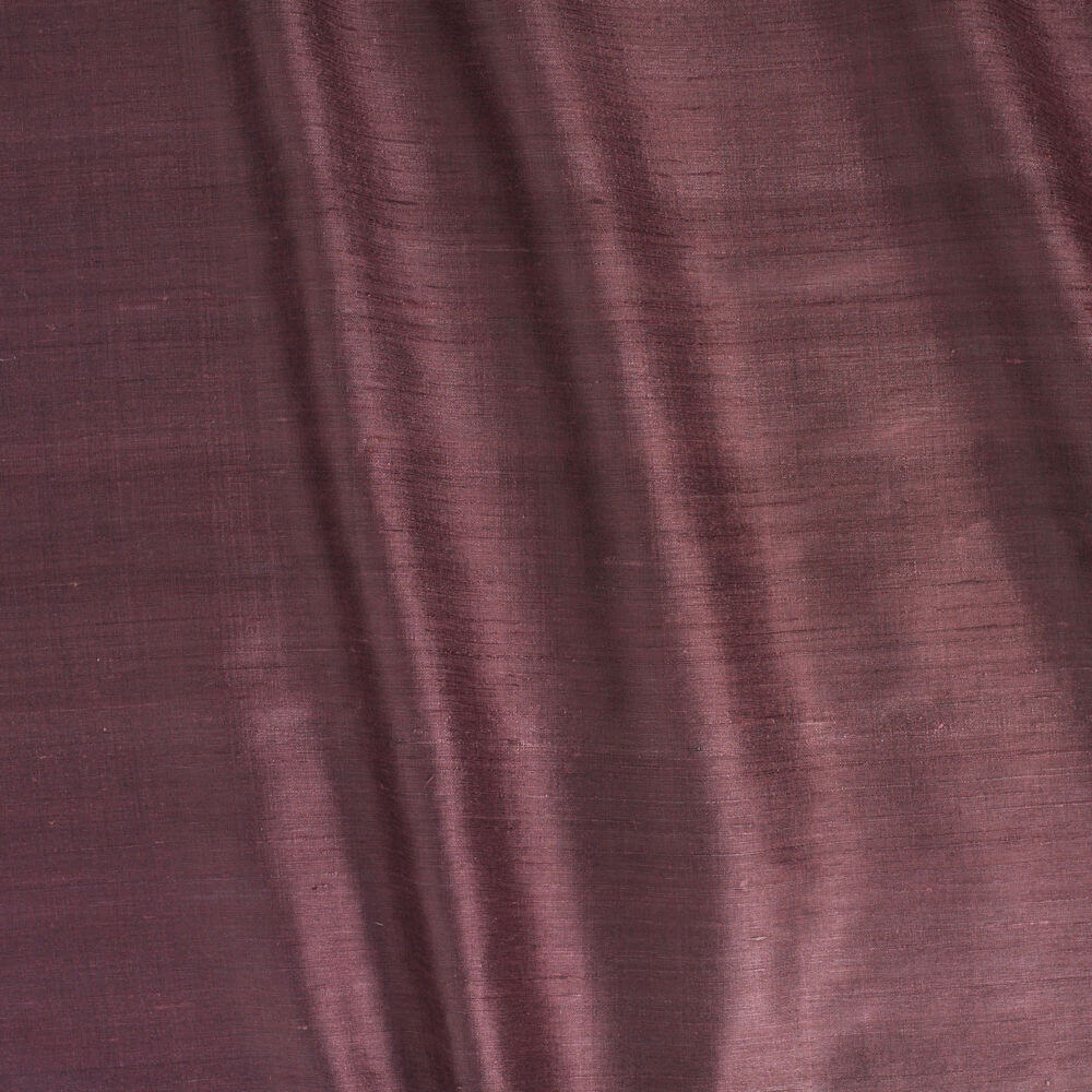 James Hare Vienne Silk Fabric Wineberry