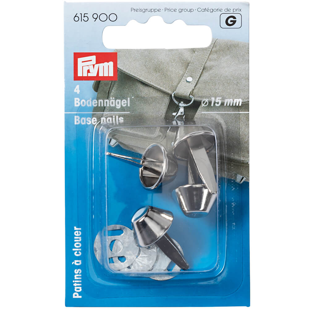 Prym Bag Base Nails Silver
