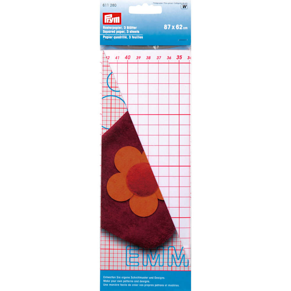 Prym Pattern Paper Square Grid