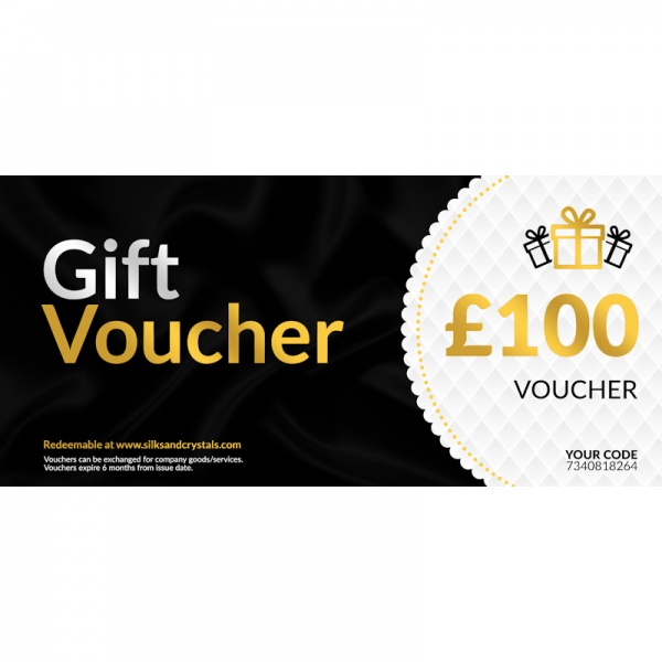 Silks & Crystals Gift Voucher £100