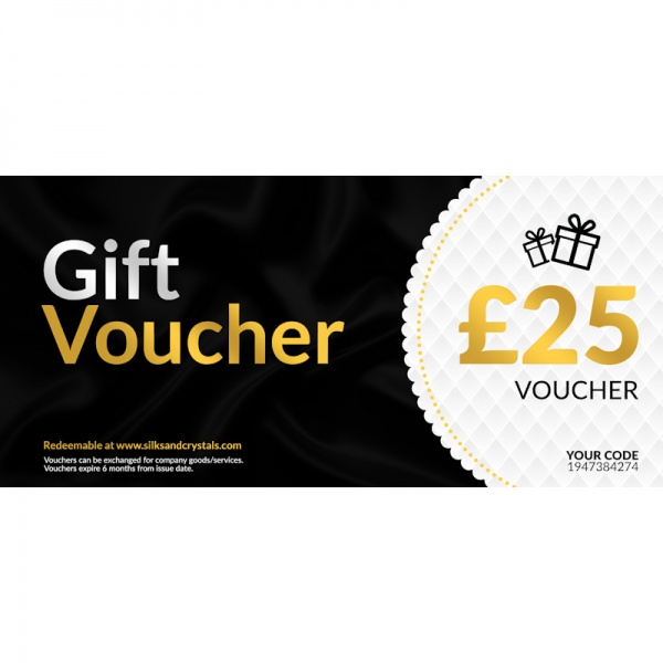 Silks & Crystals Gift Voucher £25