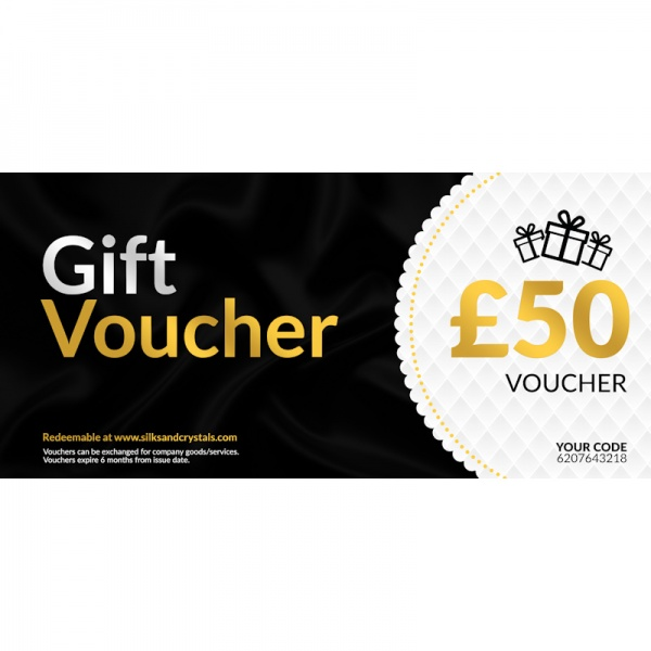 Silks & Crystals Gift Voucher £50